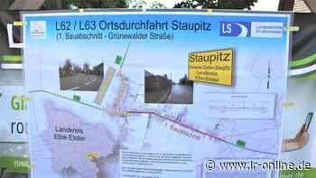 Straßenbau zwischen Finsterwalde und Elsterwerda: Durchfahrten in Staupitz über ein Jahr gesperrt - Lausitzer Rundschau