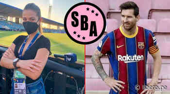 "Camila Zapata: ""Me gustaría que Lionel Messi juegue en Sport Boys"" - Libero.pe"