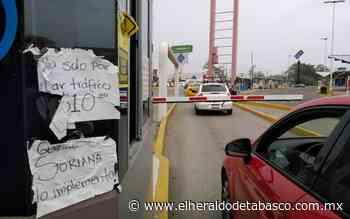 Les cobran para evitar distribuidor de Guayabal: Automovilistas - El Heraldo de Tabasco