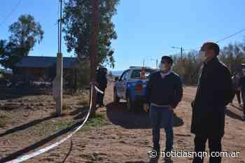 El gobernador viajó hasta Aguada San Roque para interiorizarse de lo sucedido - Noticias NQN