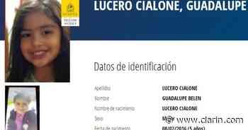 Interpol emitió una alerta amarilla por Guadalupe Lucero, a 9 días de su desaparición - Clarín