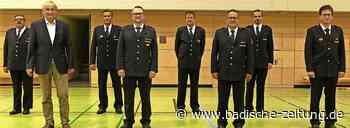 Feuerwehrkommandanten bestätigt - Zell im Wiesental - Badische Zeitung - Badische Zeitung