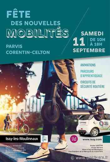 Fête des nouvelles mobilités Parvis Corentin Celton samedi 11 septembre 2021 - Unidivers