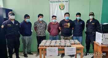 Piura: Cinco sujetos son detenidos con 22 kilos de droga en camioneta - Diario Perú21