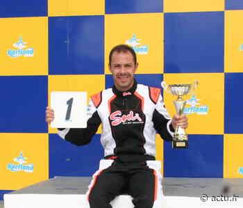 Coulommiers : Antoine Poulain remporte le championnat d'Ile-de-France de karting - actu.fr