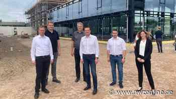 Neubau an A 28: Halbzeit bei Traba in Westerstede - Nordwest-Zeitung