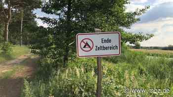 Party und Natur: Security vertreibt Camper zwischen Fürstenwalde und Erkner aus dem Wald - moz.de