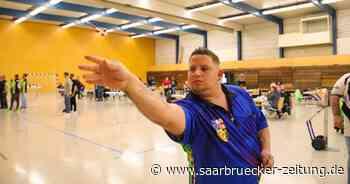 Darts-Spieler Steven Noster gewinnt als erster Saarländer ein PDC-Turnier - Saarbrücker Zeitung
