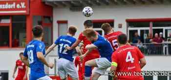 VfL-Kicker scheitern im Pokalhalbfinale an Donzdorf - Lokalsport - Teckbote Online