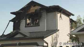 Chestermere residents devastated by fatal house fire   Watch News Videos Online - Globalnews.ca