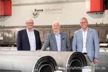 Stadtlohner Unternehmen Ferro hat seit 25 Jahren Stahl im Blick - Ruhr Nachrichten