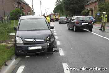 Twee ongevallen op dezelfde plaats
