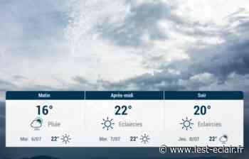 Nogent-sur-Seine et ses environs : météo du lundi 5 juillet - L'Est Eclair