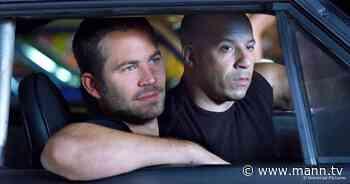 """Vin Diesel & Paul Walker: So ehrt Diesel den Freund in jedem """"Fast & Furious"""" - MANN.TV"""