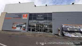 Un nouveau Showroom Point.P à Senlis - Construction Cayola