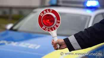Kontrollen in Stuhr und Leeste: Zwei Fahrer unter Alkoholeinfluss - WESER-KURIER - WESER-KURIER