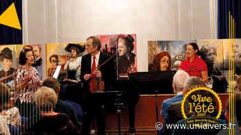 Le salon musical Médiathèque Anna Marly jeudi 15 juillet 2021 - Unidivers