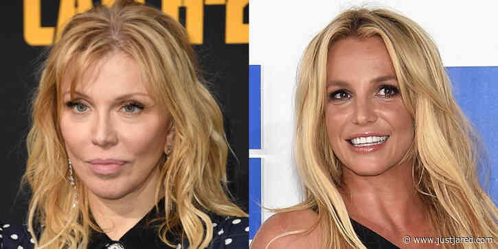 Courtney Love Pays Tribute to Britney Spears with Emotional Cover of 'Lucky'