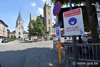 Maskers mogen nog niet af in Bornemse Boomstraat - Gazet van Antwerpen