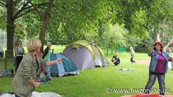 Freizeit im Ammerland: Ortsbürgerverein Apen veranstaltet Zeltlager für Familien - Nordwest-Zeitung