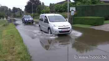 Wateroverlast Sint-Gillis-Waas: Op 1 uur tijd viel er regen voor een hele maand uit de lucht - TV Oost