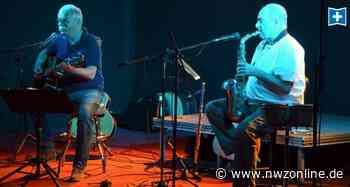 Open-Air-konzert in wardenburg: Zwei Musiker und viele verschiedene Instrumente - Nordwest-Zeitung