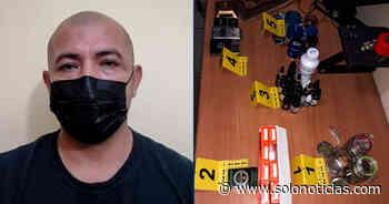 Capturan a traficante de drogas que operaba en San Juan Opico, La Libertad - Solo Noticias