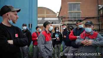 La production de Jeumont Electric à l'arrêt, une partie des salariés en grève - La Voix du Nord