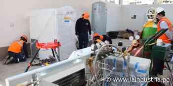 Instalan planta de oxígeno en Otuzco del proyecto Legado Panamericanos - La Industria.pe