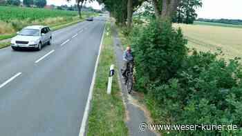 Delmenhorst ist zuständig: Radweg in Stuhr zu schmal - WESER-KURIER - WESER-KURIER