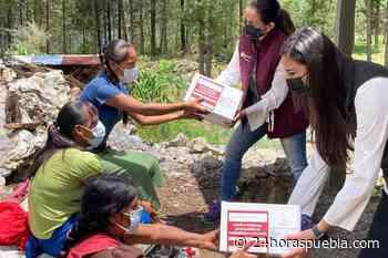 Entrega SEDIF despensas a comunidades indígenas de Ajalpan - 24 Horas El Diario Sin Límites Puebla