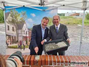 Hautmont : La première pierre du village de marques enfin posée ! - L'Observateur