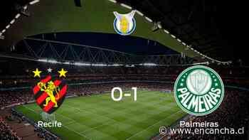 Palmeiras logra una ajustada victoria ante Sport Recife (1-0) - EnCancha.cl
