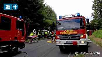 Olsberg: Schwerer Unfall auf der B 7 bei Antfeld - Westfalenpost