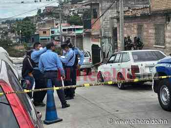 Dentro de su vehículo acribillan a hombre en el barrio Perpetuo Socorro de la capital - ElHeraldo.hn