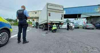Unfall in Sankt Augustin: Radfahrer gerät unter Lkw - General-Anzeiger Bonn