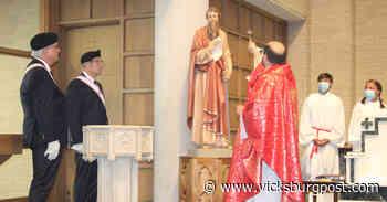 St. Paul Catholic Church in Vicksburg dedicates statue of patron saint - The Vicksburg Post - Vicksburg Post