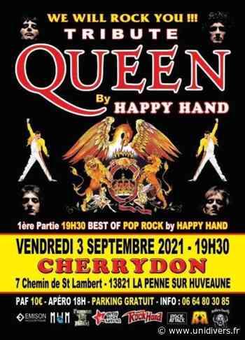 Tribute Queen By Happy Hand Cherrydon vendredi 3 septembre 2021 - Unidivers
