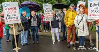 Kaarst: Bürger demonstrieren gegen Parkdeck – Entscheidung vertagt - Westdeutsche Zeitung