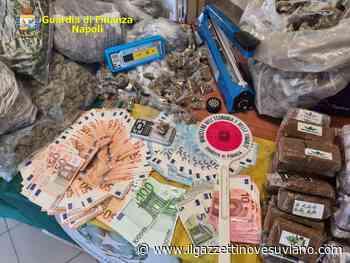 Marano di Napoli: arrestati 3 pusher e sequestrati oltre 22 kg di droga - Il Gazzettino Vesuviano