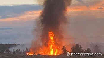 Four lightning-caused fires reported in Rosebud County - NBC Montana