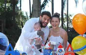 Lucas Lucco e Lorena Carvalho compartilham risadas do filho e encanta web - NE10