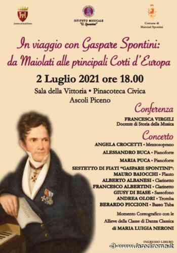 Conferenza-concerto musicale dell'istituto Gaspare Spontini: da Maiolati alle principali Corti d'Europa - Farodiroma
