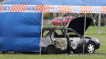 Body found in burnt-out car in Melbourne park - NEWS.com.au