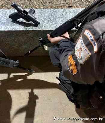Preso com uma pistola em Santa Isabel, em São Gonçalo - O São Gonçalo