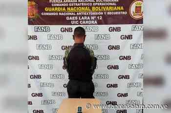 Capturan a falso FAES en Carora - La Prensa de Lara