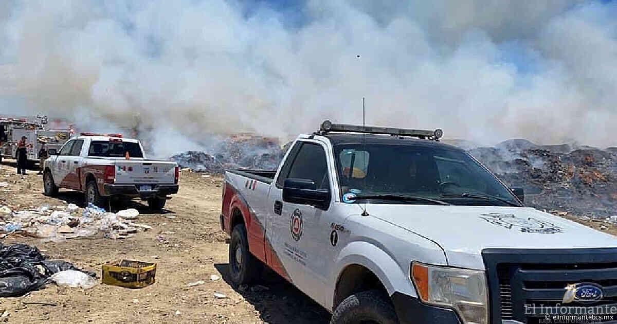 Se incendia basurero de Buena Vista en Los Cabos; activan protocolo de emergencia - El Informante Baja California Sur