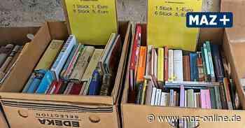 Bad Belzig: Bücherbasar auf dem Paradiesplatz ist 24/7 geöffnet - Märkische Allgemeine Zeitung