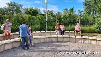 Bray-Dunes: le jardin de la médiathèque aménagé pour accueillir des événements et être au calme - La Voix du Nord