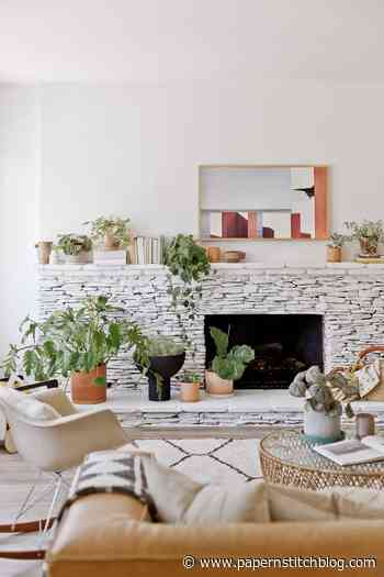 Before and After: Fireplace Makeover